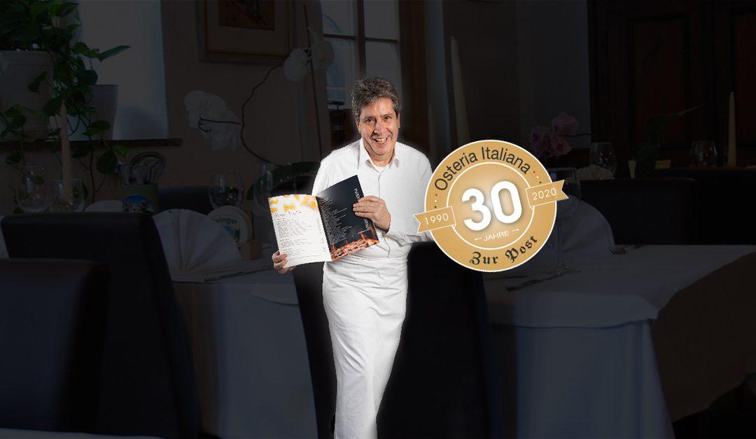 "30 Jahre Osteria Italiana ""Zur Post"""